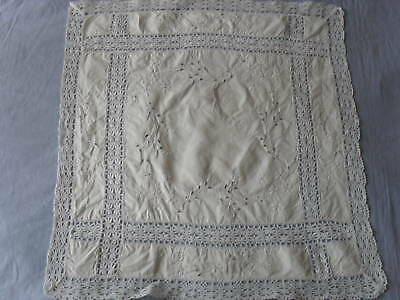 Beautiful Vintage Hand-Embroidered Placemat