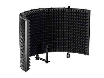 Monoprice Microphone Isolation Shield, Acoustic Foam Front - Stage Right Series