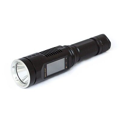 IMALENT DD2R Rechargeable Tactical Torch 1065lm XM-L2 with Touch-screen control