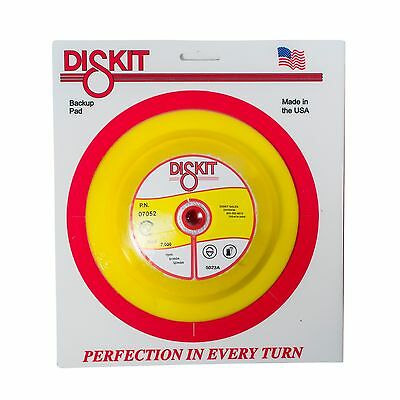 "Diskit 7"" DA Disc Sanding Back-up Pad Vinyl Face For PSA Disc 07052"