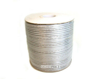 Monoprice 955 4 Wire, UL, 26AWG, Stranded, Silver - 1000ft