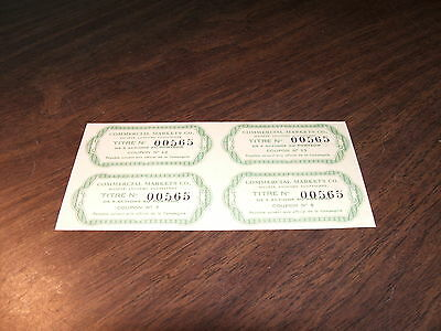 Commercial Markets Company Societe Anonyme Egyptienne Bond Interest Coupons