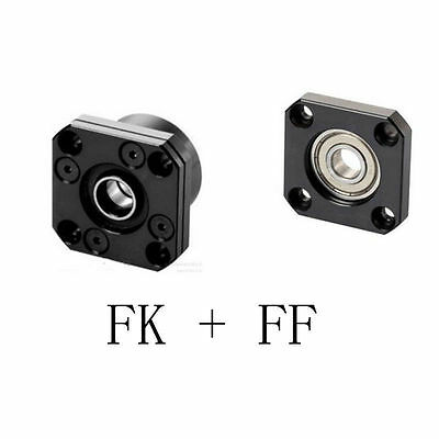 1x BK10 3x FF12  3x FK10 Floated Side CNC part Ball Screw End Support