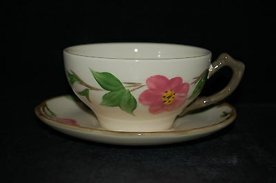 2 - Franciscan Desert Rose England Cup and Saucer #3 - Set of 2