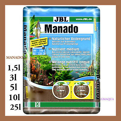 JBL Manado * Natural substrate which filters and enhances plant growth.