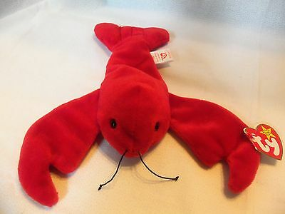 TY Beanie Babies Red Lobster ** PINCHERS ** 5th Generation New w/ Tag