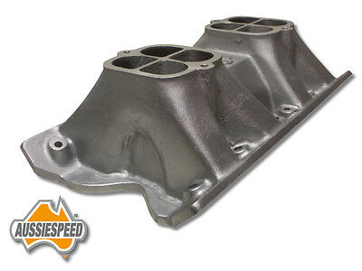 Ford V8 302 351 Cleveland 2V small port tunnel ram 2x4 1x4 2x2 high rise intake