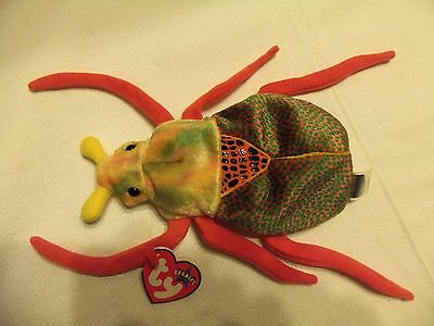 TY Beanie Babies Creepy Bug ** SCURRY **  6th Generation New w/ Tag