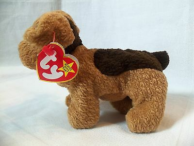 TY Beanie Babies Terrier Puppy Dog ** TUFFY ** 5th Generation New w/ Tag