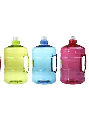 Lemon & Lime BPA Free Water Drink Bottle 2 Litre with Handle - Red