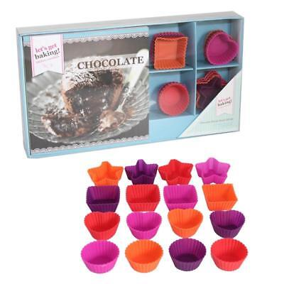 Lets Get Baking Chocolate Recipe Book Gift Set With Moulds
