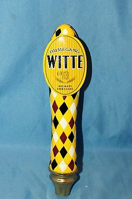 Ommegang Witte tap handle bar pub Cooperstown