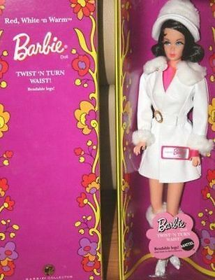 Red, White 'N Warm Barbie Doll 2007 Mod Vintage Reproduction TNT Gold Label NRFB