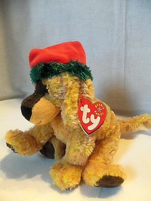 TY Beanie Babies Christmas Pup ** JINGLEPUP ** 9th Generation New w/ Tag