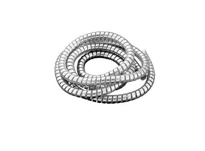 Cache Gaine de Câble Spirale Chrome Fil Rangé 10mm Moto/Trike