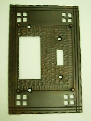 combination toggle GFI Decora Pacifica Mission Switch Plate