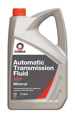 Comma Aqf Automatic Transmission Fluid Mineral 5L Atf5L For Ford Esp-M2C-33F G