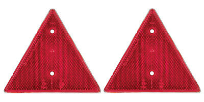 Ring Towing 2 x Reflector Red Warning Trailer Triangles RCT550