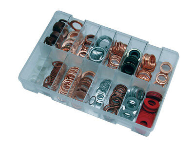 Oil Sump Plug Washers Assortment Tray / Assorted Box Spare Garage Parts