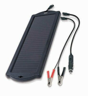 Ring Automotive 12V Solar Powered Car & Leisure Battery Trickle Charger RSP150