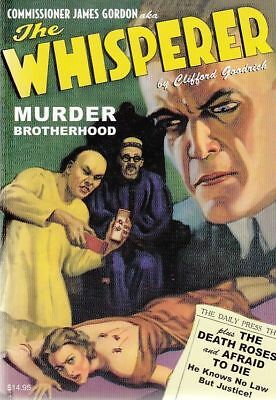 The Whisperer #7 Double Novel Tpb 1930's 2 Stories
