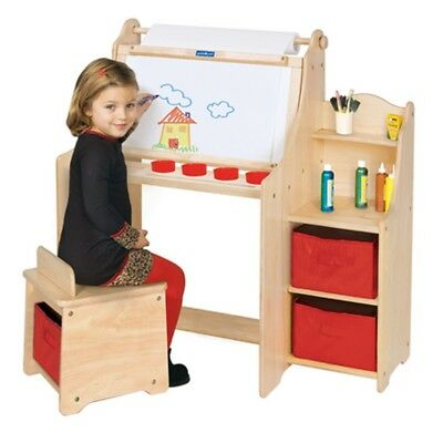 Guidecraft Artist Activity Desk, Natural - G51032