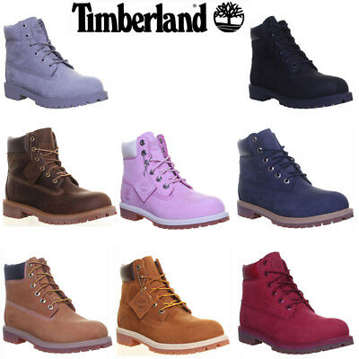 Timberland Junior 6 Inch Premium Waterproof Boots Size UK 3 - 6.5 EU 35 - 40