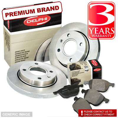 Land Rover Discovery 2 Rear Delphi Brake Discs & Pads Td5 99- New Kit