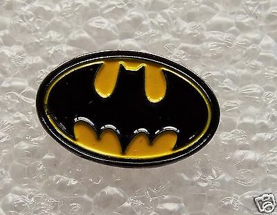 Oval Batman enamel pin / lapel badge