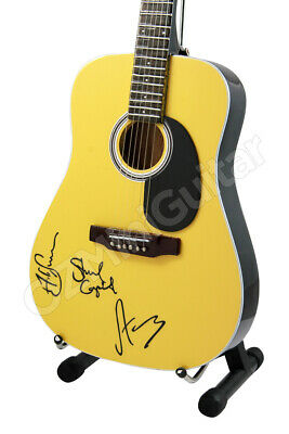 Miniature Acoustic Guitar THE POLICE