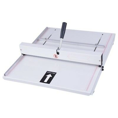 "19"" Manual Scoring Paper Creasing Machine Creaser Scorer Magetic Lock Office"