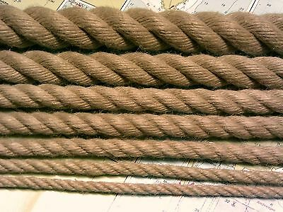Rope - Synthetic Hemp (Polyhemp Hempex) for Decking, Garden and Boating (6-32mm)