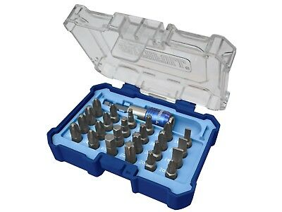 Faithfull 25 Pce Embouts de Tournevis & Perceuse Support Set Pz , Ph, Torx,