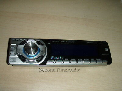Sony CDX-V5800 Faceplate Only- Tested Good Guaranteed!