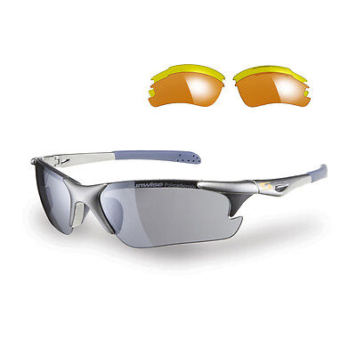 Sunwise Twister Grey Frame With 3 Different Interchangeable Lenses