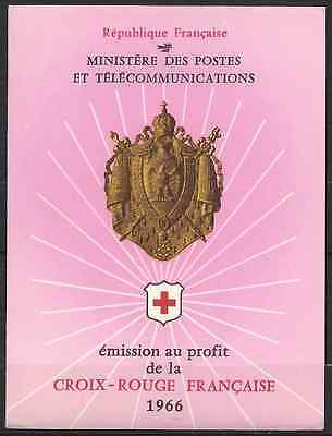 France Carnet De Timbre Croix Rouge Red Cross 1966 N°2015 Neuf ** Luxe Mnh