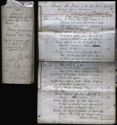 1861 - 1863 Dundrennan, Stuart Cairns Maitland Esq To William Campbell, 40 Pages