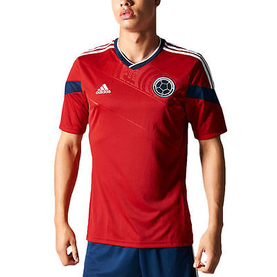 Colombia adidas Replica Away Soccer Jersey - Red