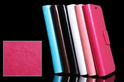 Colorful GENUINE LEATHER WALLET FLIP CASE FOR iPhone 6 6S 6 PLUS 6S PLUS