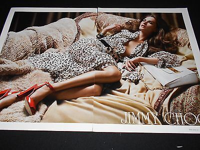 ANOUCK LEPERE magazine clippings *** Tommy Hilfiger Shiseido Jimmy Choo ads