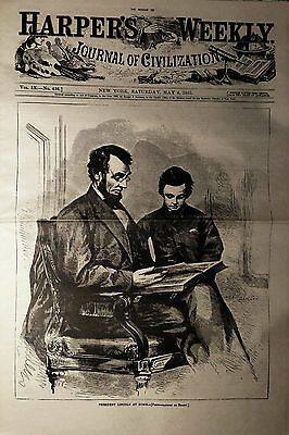 HARPERS WEEKLY Newspaper - May 6, 1865  - Reprint