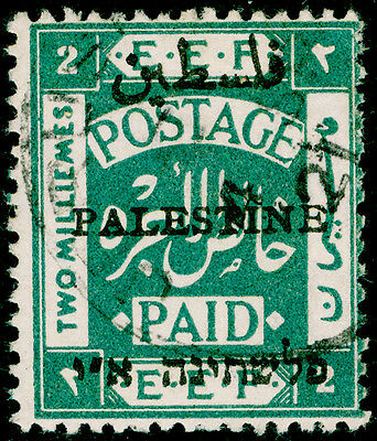 Sg48, 2m blue-green, VERY FINE used.