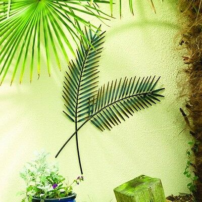 80cm Palm Leaf Outdoor Weatherproof Garden Wall Art