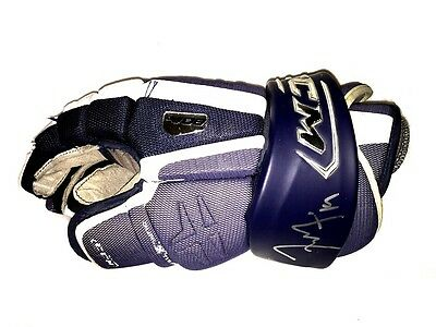 Tyler Seguin Signed Game Used Glove Plymouth Whalers Jsa Coa Loa Dallas Stars