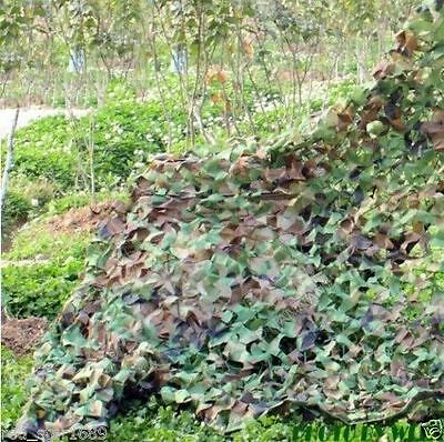 Hunting Camping Camo Military Camouflage Army Woodland Jungle Leaves Net Netting