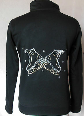 New Ice Skating Dress Jackets with Stunning Motifs -Ages 7-8, 9-10,11-12 & 13