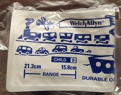 Welch Allyn Blood Pressure Cuff Child (Size 9) #5082-84P-3HP NEW/SEALED