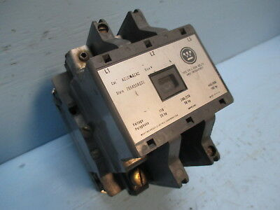 Westinghouse A200M4CAC Size 4 Motor Contactor 120V Coil 600 Vac 100hp Sz4
