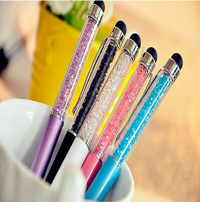 Crystal 2 in1 Ultra-soft Writing Stylus Touch Screen Pen For iPhone Tablet