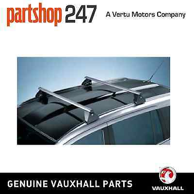 New Genuine Vauxhall Zafira B Roof Rack Bars Carrier (With Roof Rails) 93199522